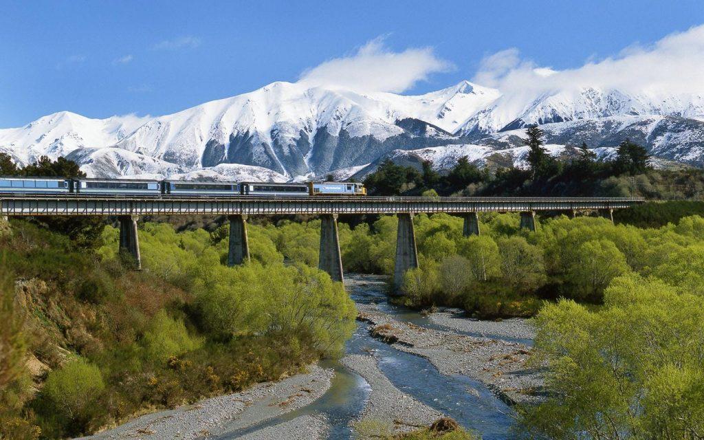 TranzAlpine, Yeni Zelanda
