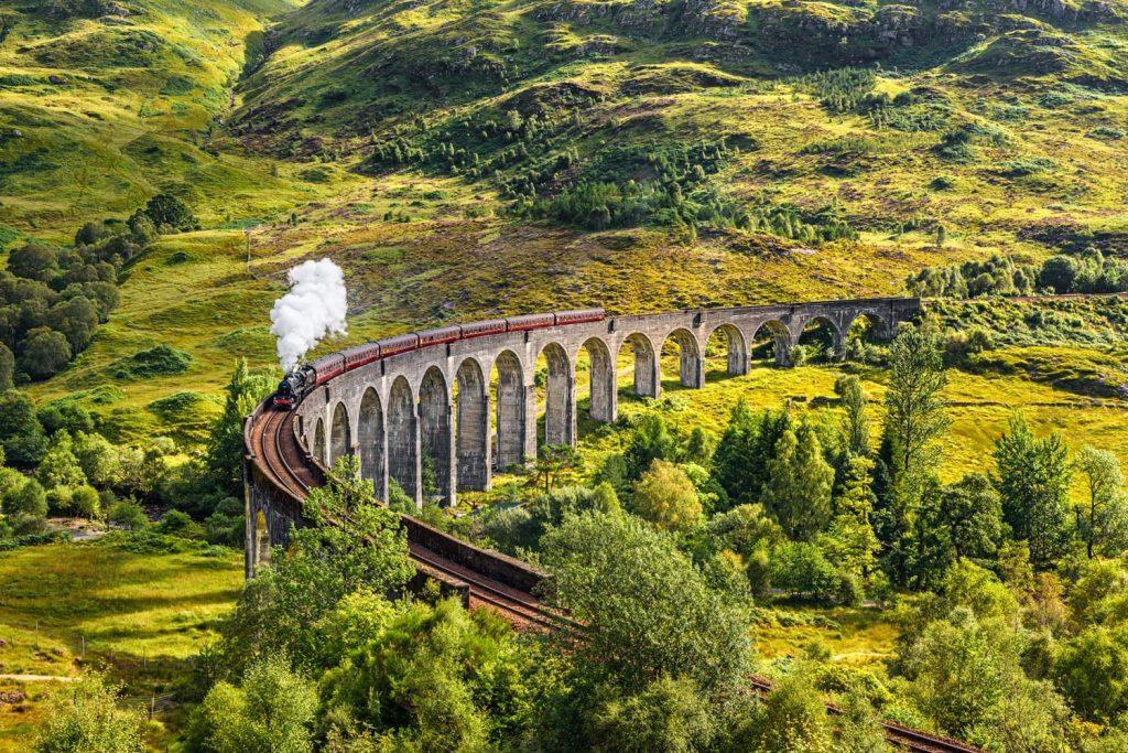 Tren Seyahatleri Arasında Biraz Da Harry Potter Klasiği: The Jacobite, İskoçya, Birleşik Krallık